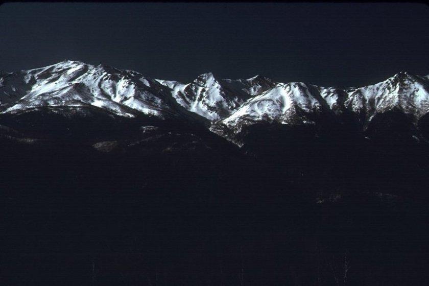 1月の木曽御嶽