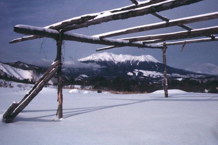 冬の木曽御嶽
