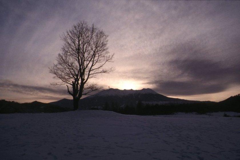 3月の木曽御嶽