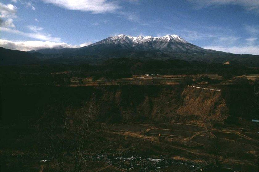 11月の木曽御嶽