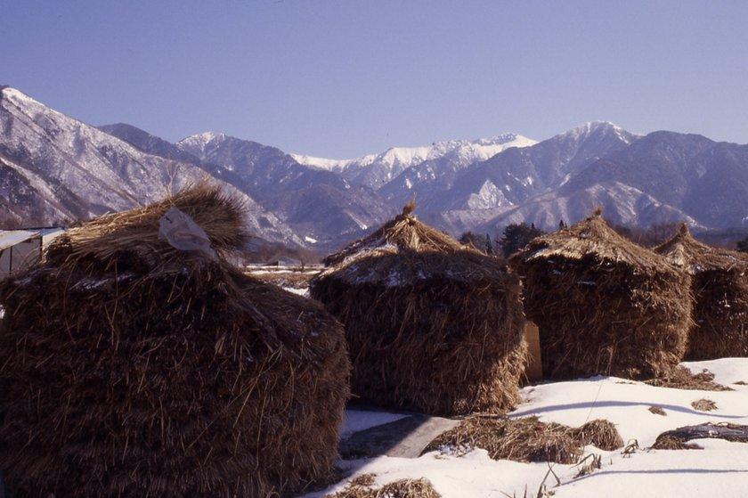 2月の木曽駒ヶ岳